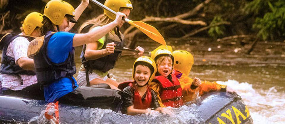 Mini-Rafting em Brotas