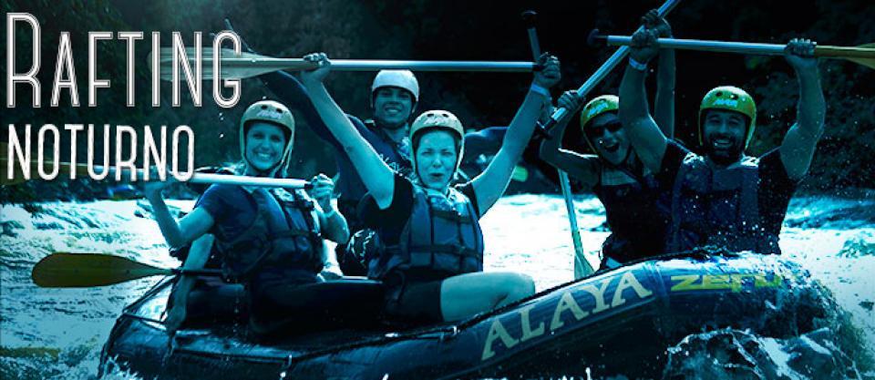 Rafting Noturno em Brotas