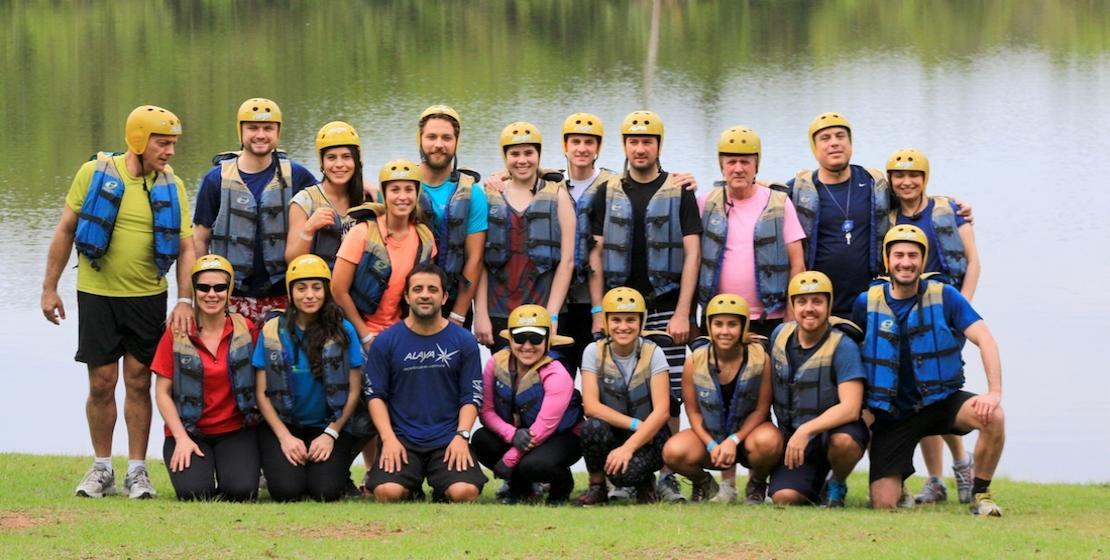 Lago para treinamento